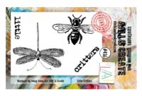 #436 Little critters insects clear stamp set - Stämpelset med insekter från Tracy Evans & AALL & Create A7