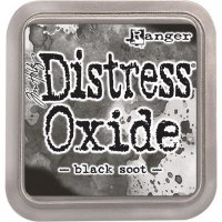black soot, distress oxide ink, tim holtz