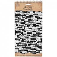 chit chat stickers, tim holtz, stickers, ord, citat,