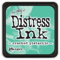 cracked pistachio, distress ink, tim holtz