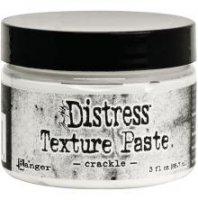 Crackle distress texture paste - Texturpasta från Tim Holtz / Ranger ink