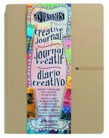 Creative journal LARGE 11*8- Stor journal från Dylusions / Ranger ink ca 28*20 cm
