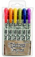 distress crayons 2, tim holtz, kritor
