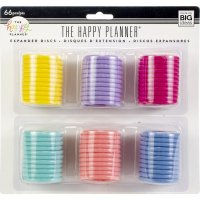 Happy disc planner value pack 1,75 - Ett multipack med stora diskar / ringar från Me & My big ideas