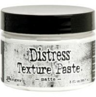 Matte distress exture paste - Texturpasta från Tim Holtz / Ranger ink
