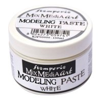 Modeling paste - Pasta till t ex soft moulds från Stamperia 150 ml