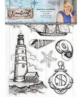 Nautical elements stamp set - Stämplar med marint tema från Sara Davies / Crafter's Companion