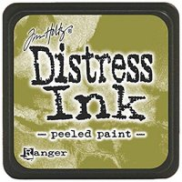 peeled paint, distress ink, tim holtz