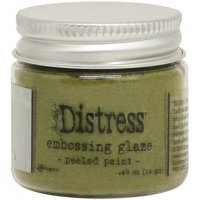 Peeled paint distress embossing glaze - Glansigt embossingpulver från Tim Holtz / Ranger ink