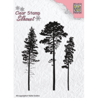 pine, tree, stamp, stämpel, nellie snellen, jul, christmas