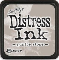 pumice stone, distress ink, tim holtz