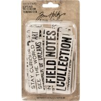 quote chips, chipboard, citat, ord, uttryck, tim holtz