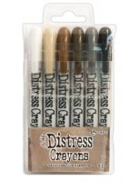 distress crayons, tim holtz