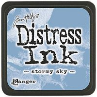 stormy sky, distress ink, tim holtz
