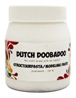 Smooth structure paste (modeling paste) - Len texturpasta från Dutch Doobadoo 250 ml