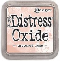 tattered rose, distress oxide ink, tim holtz, ranger