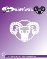 väduren, the ram, aries, die, stansmall, by lene, horoskop, stjärntecken