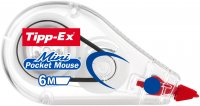 Tipp-Ex korrigeringsroller Mini pocket mouse 5 m