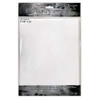 Distress white heavystock 10 sheets - Vita papper från Tim Holtz/Ranger 8½x11