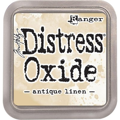 antique linen, distress oxide, tim holtz, ranger
