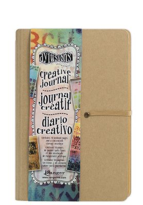 creative journal, dylusions, konstjournal