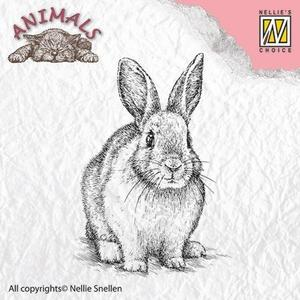 hare, animal, djur, stämpel, stamp, nellie snellen