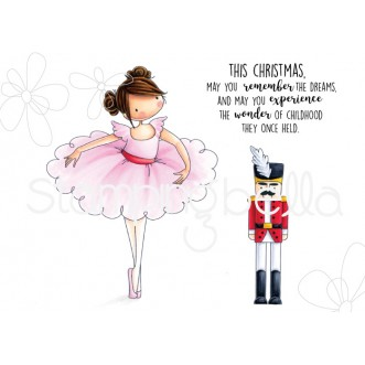 Tiny townie Natalie and the nutcracker rubber stamps - Motivstämplar från Stamping Bella